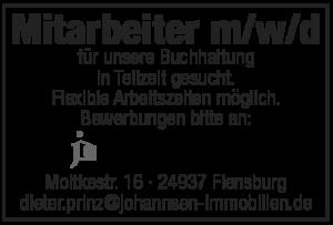 Jobangebote Johannsen immobilien Flensburg